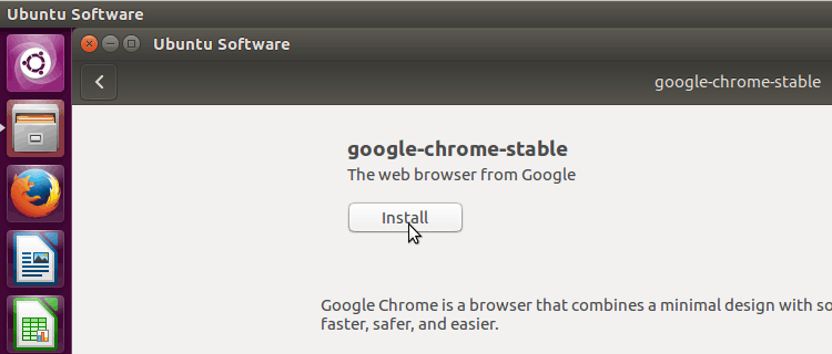 Install Google Chrome in Ubuntu 16.04