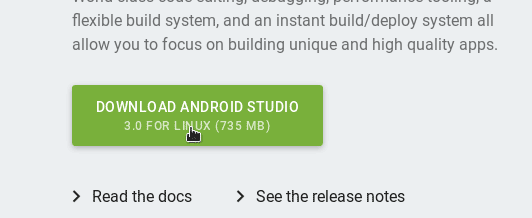 Download Android Studio for Ubuntu