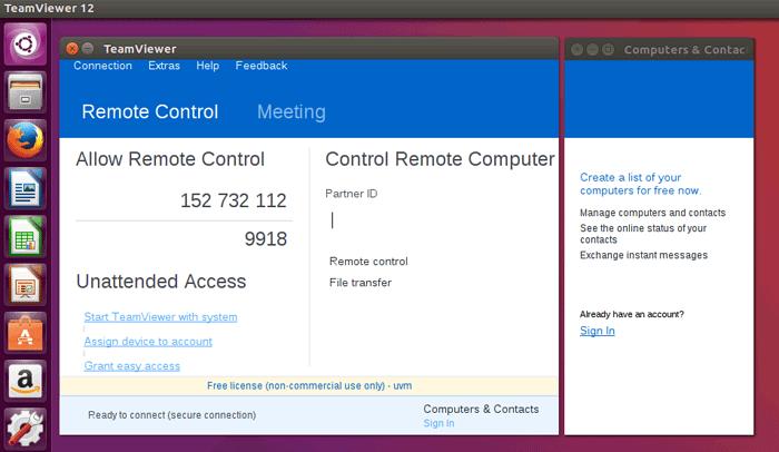 How to Install TeamViewer in Ubuntu Desktop