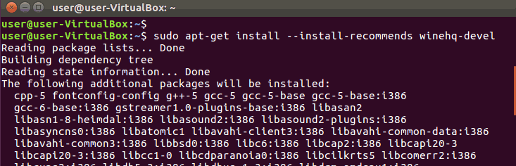 Install Wine on Ubuntu 16.04